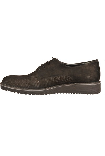 Ayakmod 905 Siyah Nubuk Erkek Günlük Ayakkabı