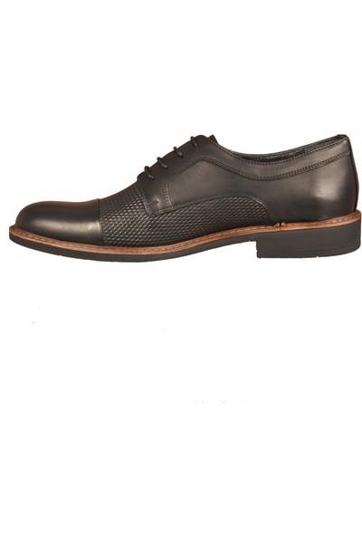Ayakmod 919 Siyah Erkek Klasik Ayakkabı