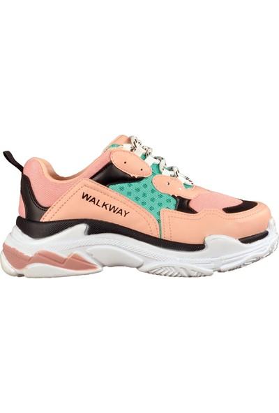 Walkway Pudra Kadın Spor Ayakkabı