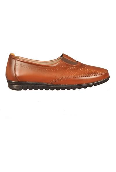 Ayakmod 6001 Taba Kadın Günlük Ayakkabı