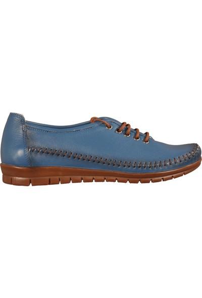 Ayakmod 829 Mavi Kadın Günlük Ayakkabı