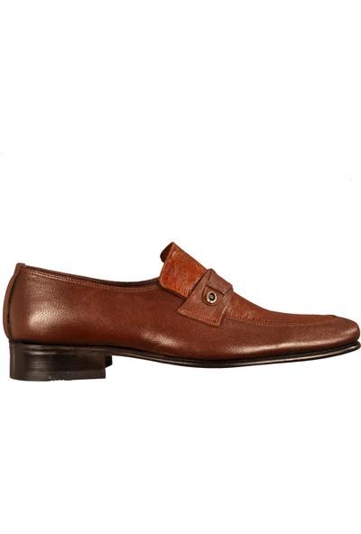 Ayakmod 99 Kahverengi Erkek Klasik Ayakkabı