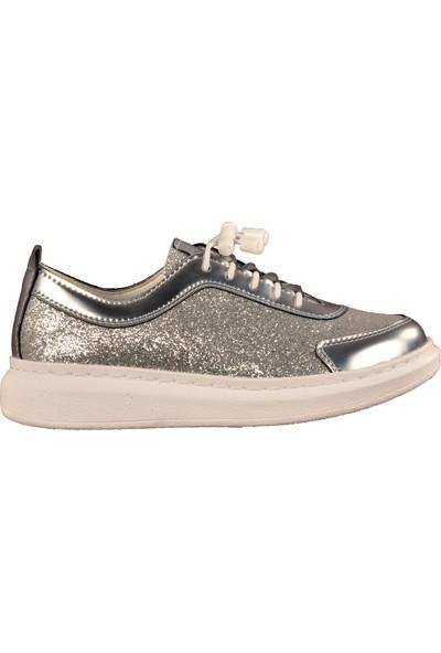 Wanetti 02 Gümüş Çocuk Spor Ayakkabı