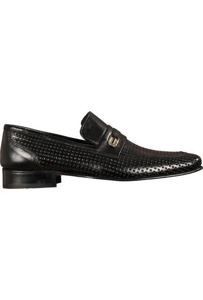 Ayakmod 300 Siyah Erkek Klasik Ayakkabı