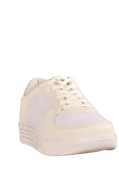 Walkway 651 Beyaz Kadın Spor Ayakkabı