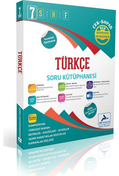 Paraf Yayınları 7. Sınıf Türkçe Soru Kütüphanesi