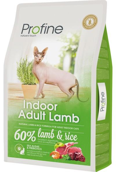 Profine Indoor Kuzu Etli Yetişkin Kedi Maması 10 kg + 2 Adet Kedi Ödülü