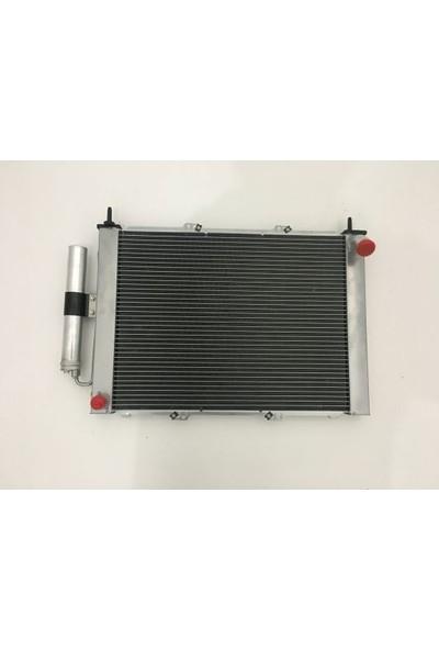 Gust Su Radyatörü + Klima Radyatörü Çiftli Renault Kangoo 1.5 Dci 2003> (8200732379)