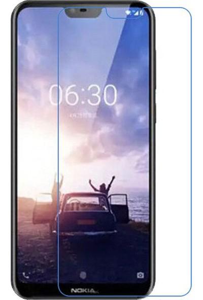 Microcase Nokia 7.1 (5.84 inch) Nano Esnek Ekran Koruma Filmi Şeffaf