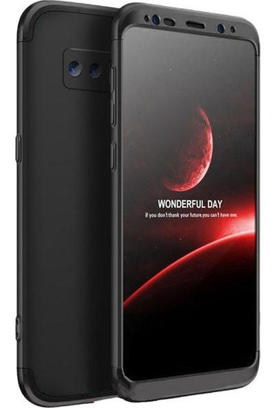 Microcase Samsung Galaxy Note 8 Tam Koruma Kapak 360 Derece Kılıf Siyah