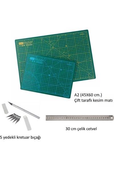 Profesyonel Hobi Kesim Matı Seti A2 (Cutting Mat Seti)