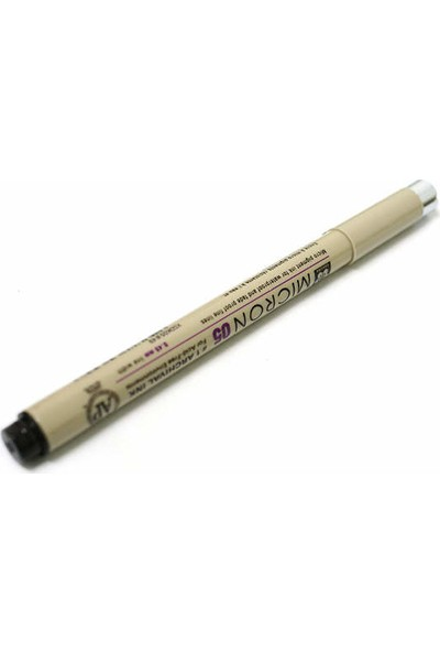 Sakura Pigma Micron Teknik Çizim Kalemi 0.5 Siyah