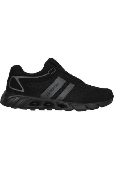 Nstep Lucky M Erkek Spor Ayakkabı Si̇yah
