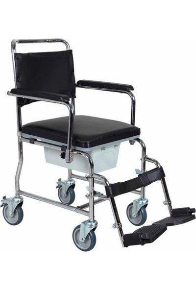 Golfi 5b Tekerlekli Banyo Tuvalet Sandalyesi