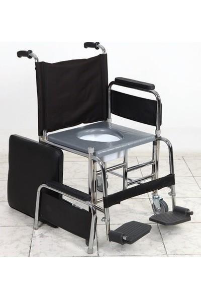 Golfı 5 Katlanabilir Banyo Tuvalet Sandalyesi