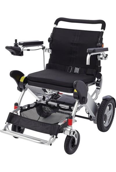 Poylin P209 Ultra Hafif Katlanır Büyük Beden Akülü Tekerlekli Sandalye