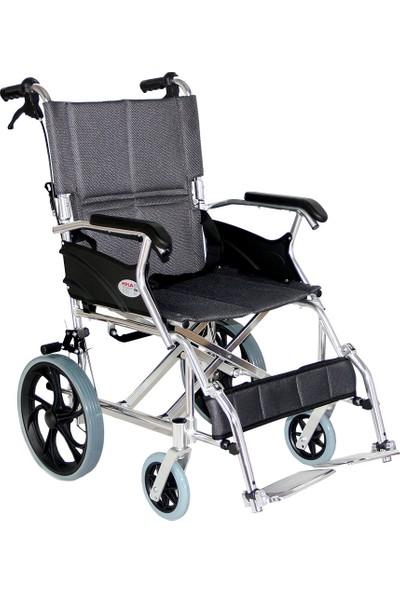 Poylin P805 Refakatçi Kullanımlı Tekerlekli Sandalye