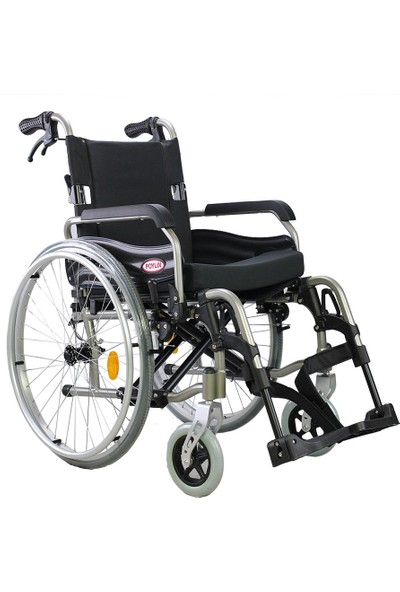 Poylin P957 Ultra Hafif Aluminyum Tekerlekli Sandalye