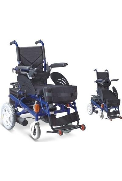 Wollex W129 Ayağa Kaldıran Akülü Tekerlekli Sandalye
