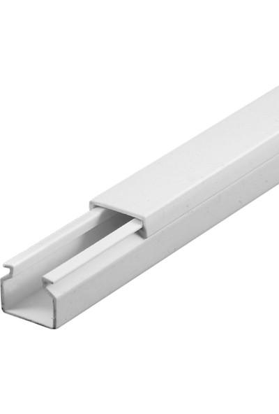 A Plus Elektrik 12x12 mm Beyaz 189x2m=378m Bantsız Kablo Kanalı