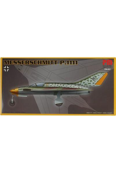 Pm Model 1/72 Messerschmitt P.1111 Savaş Uçağı Maketi