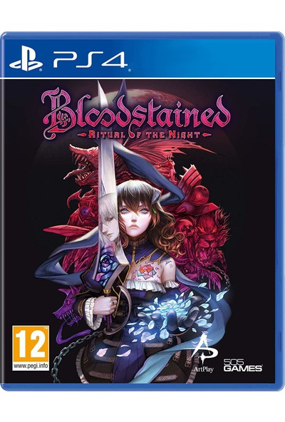 Bloodstained Ritual Of The Night PS4 Oyun
