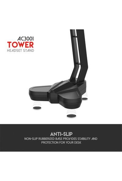 Fantech Ac3001 Tower Kulaklık Standı Gaminh Headset Stand Siyah