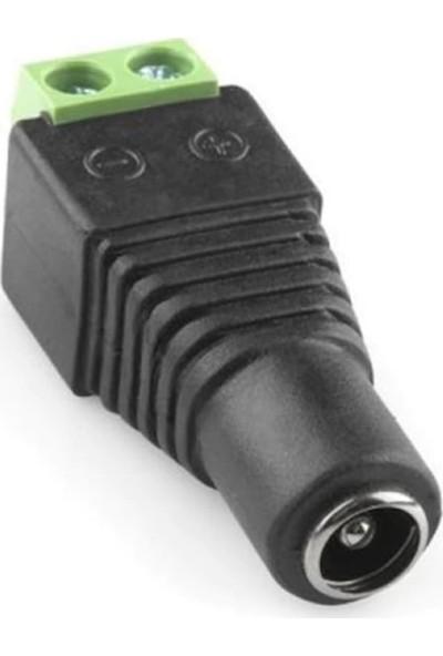 Arduino İçin 5.5*2.5Mm Dc Power Dişi Plug Jak Adaptör Konnektör Plug