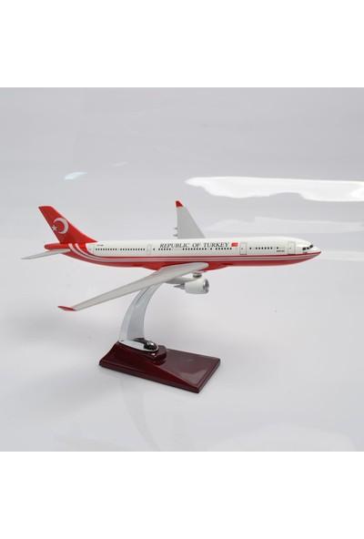T.C Cumhurhurbaşkanlığı A330 Tc-Tur 1:200 Maket Uçak