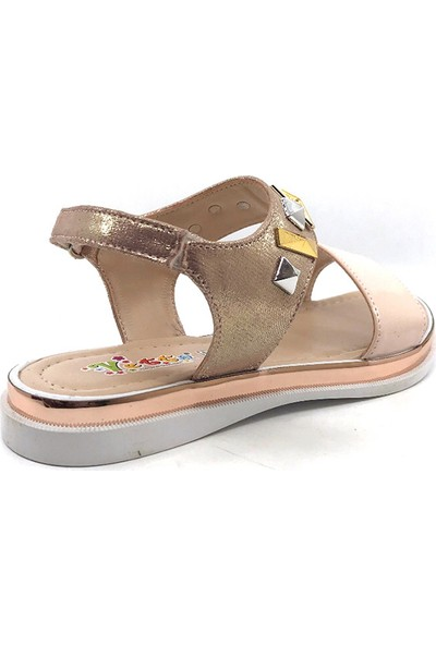 Vetta Pudra Kız Çocuk Sandalet