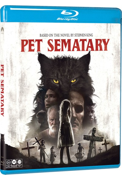 Pet Semetary - Hayvan Mezarlığı (Blu Ray)