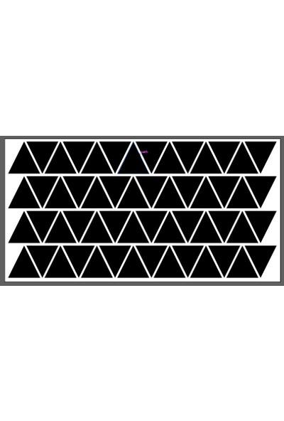 Design Masters Bebek Odası Üçgen Duvar Sticker