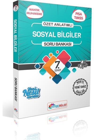 Köşe Bilgi Yayınları Özet Bilgili 7.Sınıf Sosyal Bilgiler Soru Bankası