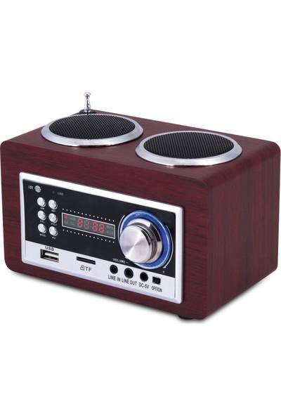 Goldmaster Sr 122 Bluetooth Taşınabilir Hoparlörlü Radyolu Oynatıcı