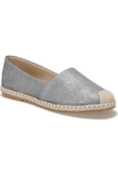 Butigo Okocha06Y Gümüş Kadın Espadril Ayakkabı