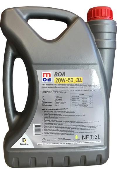 Moil 20W-50 3 Litre Motor Yağı