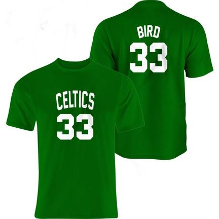 pretty nice 4ce8a 8916f Nsj Sportive Boston Celtics Larry Bird Retro Forma T-Shirt