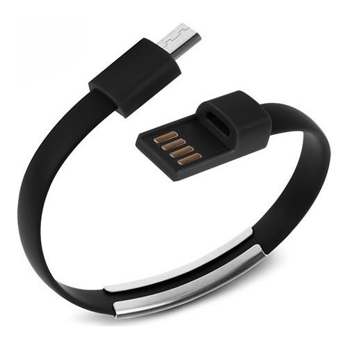 Codegen USB 3.1 Type-C Siyah Bileklik Şarj Data Kablosu CDG-CNV70