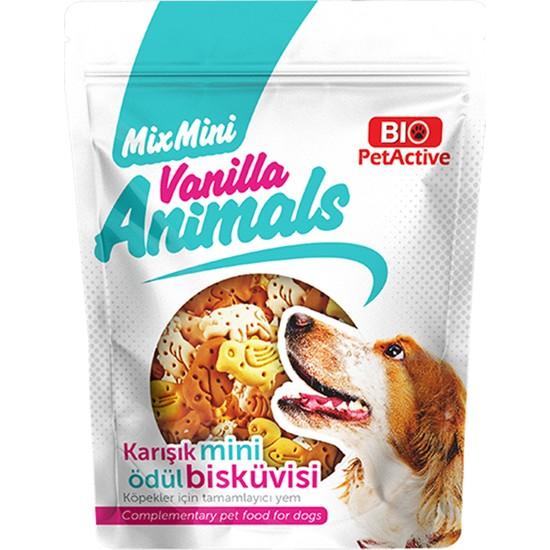 Bio Pet Active Vanilla Animals Ödül Bisküvisi 200 gr
