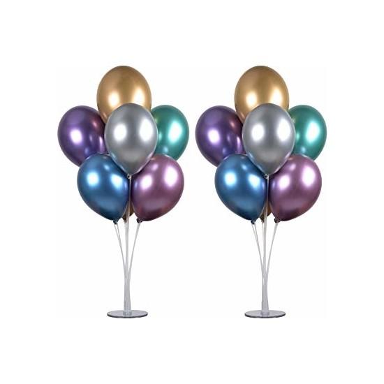 Cakes Party 7'li Balon Standı