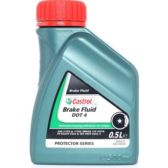 Castrol Brake Fluid Dot 4 - 500ML - Fren Sıvısı
