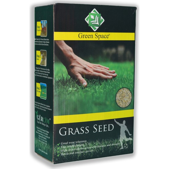 Gürçim Green Space Çim Tohumu Kuraklığa ve Sıcağa Dayanıklı Mix 1 kg