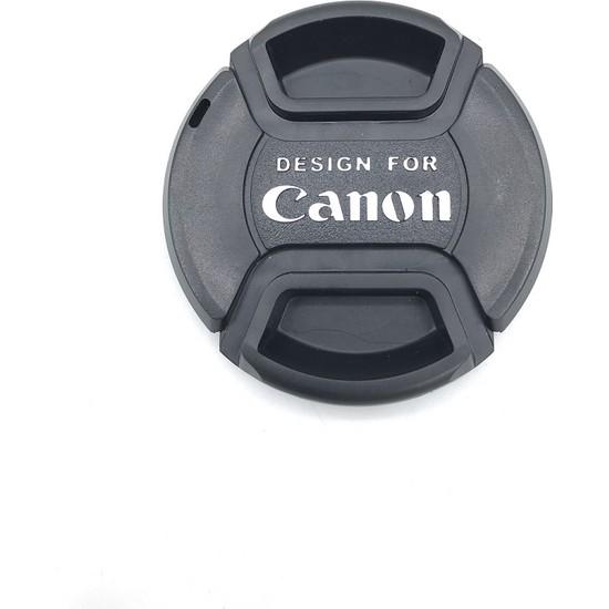 Canon Lensler Için Objektif Ön Kapakları 52MM Kapak Canon
