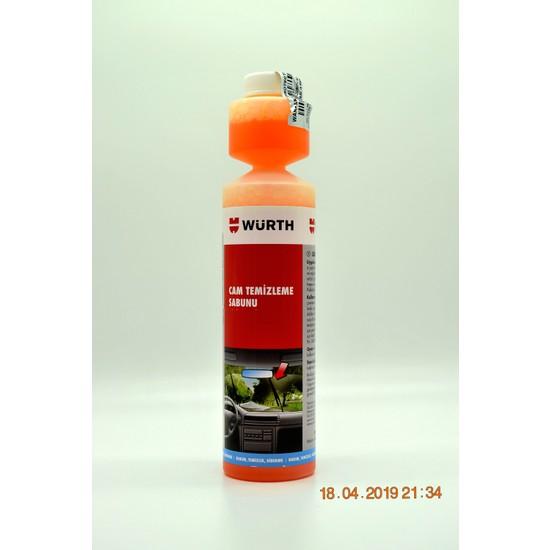 Würth Cam Temizleme Sabunu 250 ml