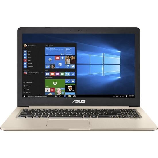 """Asus N580GD-E4155T Intel Core i7 8750H 8GB 1TB + 256GB SSD GTX1050 Windows 10 15.6"""" FHD Taşınabilir Bilgisayar"""