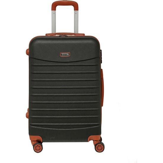 Travel Soft U Kmr 6122-B Siyah Unisex Büyük Valiz