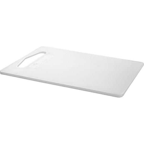 Ikea Hopplös Plastik Beyaz KesmeTahtası 15x24 cm