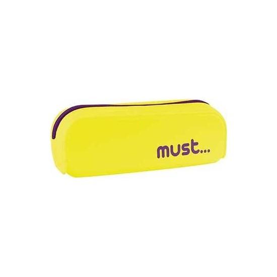 Must Silikon Kalemlik Köşeli Sarı (0579115)