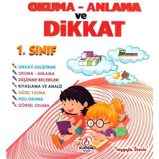 Kumsal Yayınları 1. Sınıf Okuma Anlama Ve Dikkat Geliştirme 2019