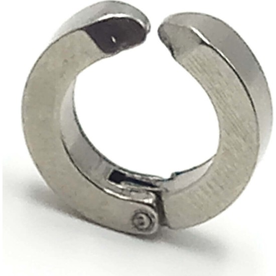 Madame Kuub Hjgıbm1 Deliksiz Kulaklar Için Sıkıştırmalı Çelik Erkek Küpe